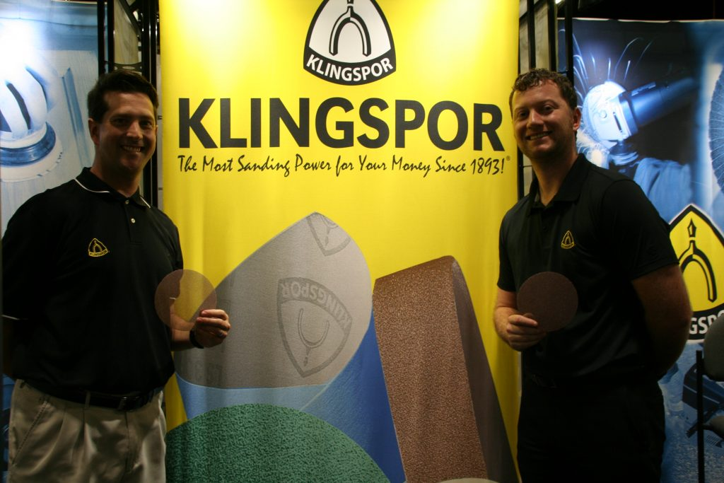 Klingspor at IBEX 2017