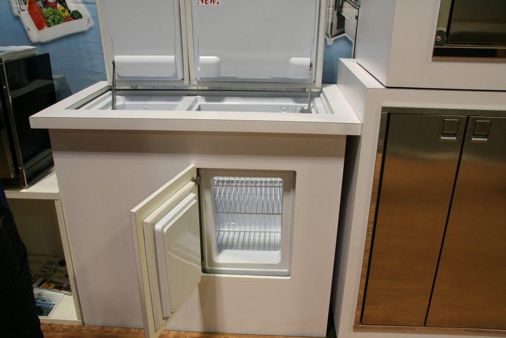 Indel-Webasto's Isotherm Refrigerator freezer top load with front door